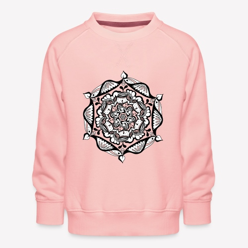 Mandala Flower - Kinder Premium Pullover