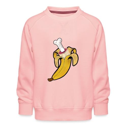 Die zwei Gesichter der Banane - Kinder Premium Pullover