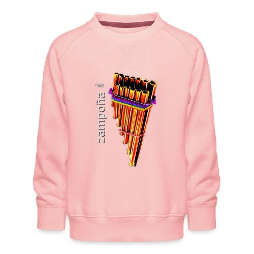 Zampoña clara - Kids' Premium Sweatshirt