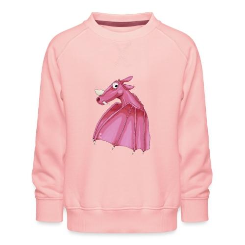 Roze fantasie draak - Kids' Premium Sweatshirt