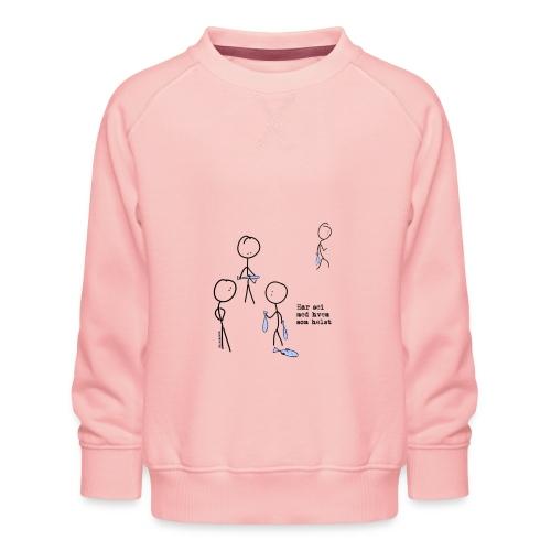 har sei png - Premium-genser for barn
