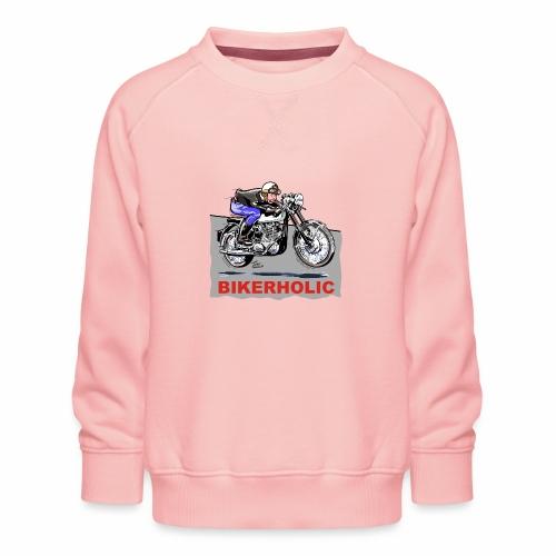 bikerholic - Kids' Premium Sweatshirt