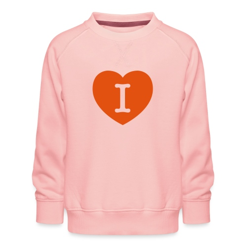 I - LOVE Heart - Kids' Premium Sweatshirt