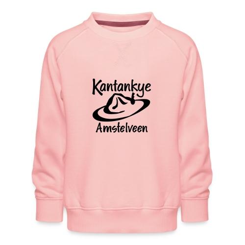 logo naam hoed amstelveen - Kinderen premium sweater
