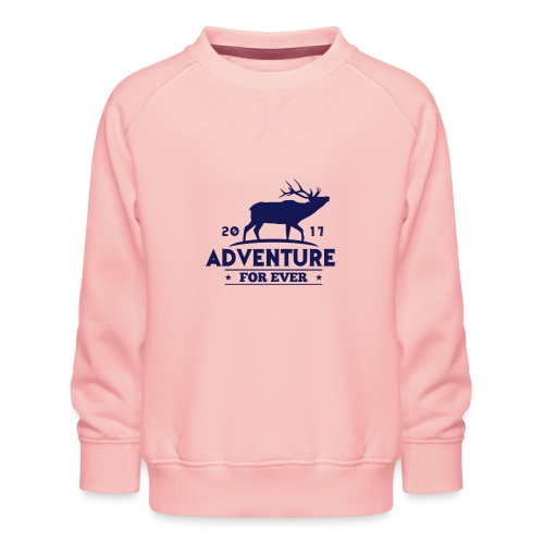 ADVENTURE FOR EVER - CERVO - Felpa premium da bambini
