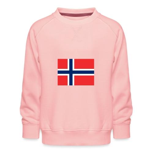 Norwegen Flagge - Kinder Premium Pullover