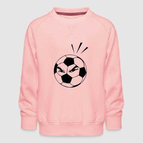 energischer Fußball - Kinder Premium Pullover