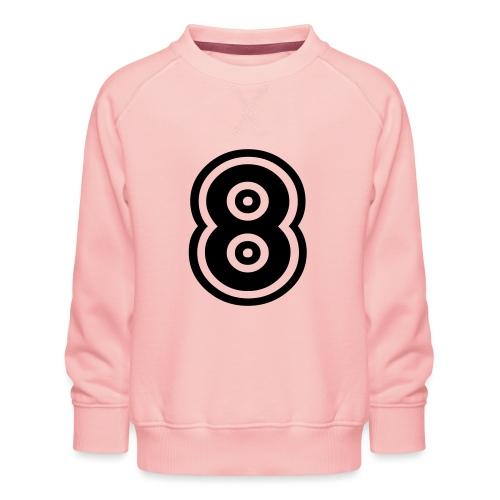 cool number 8 - Kinderen premium sweater