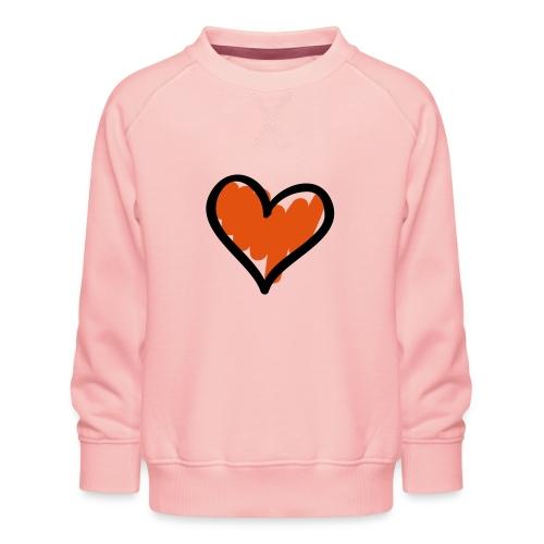 Heart Symbol Pixellamb - Kinder Premium Pullover