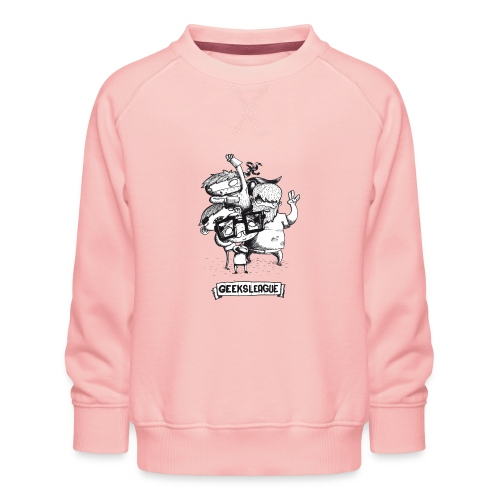 Illu Geeksleague - Sweat ras-du-cou Premium Enfant