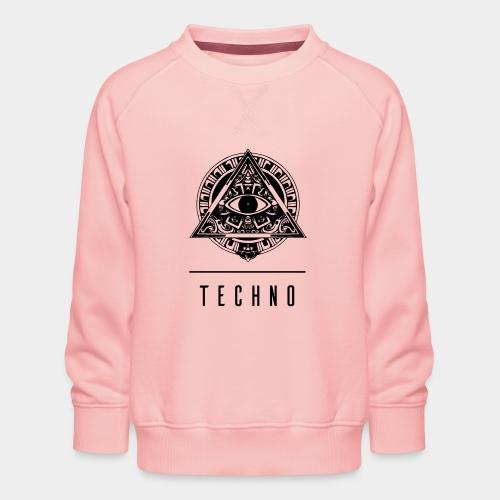 TECHNO EYE - Kinder Premium Pullover