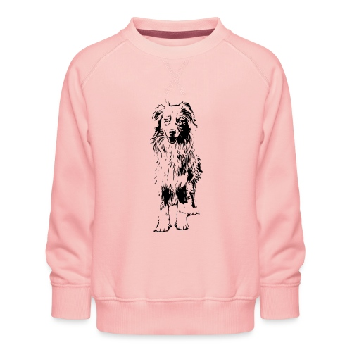 Aussie Australian Shepherd Design Hunde Geschenk - Kinder Premium Pullover