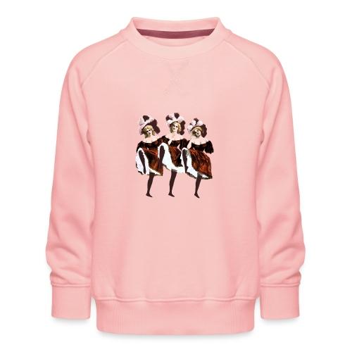 Vintage Dancers - Kids' Premium Sweatshirt