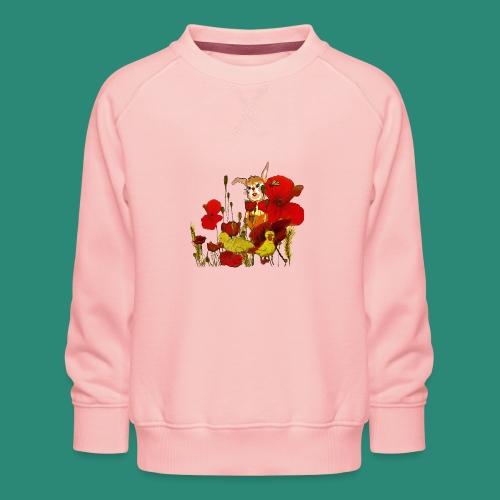 der Hase im Feld - Kinder Premium Pullover