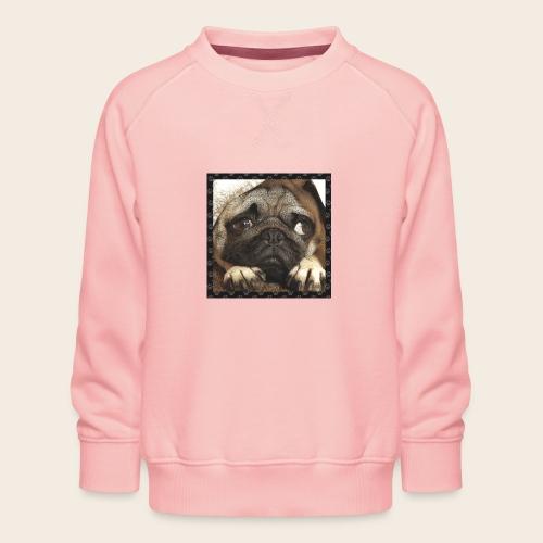 Mops Hund 1 - Kinder Premium Pullover