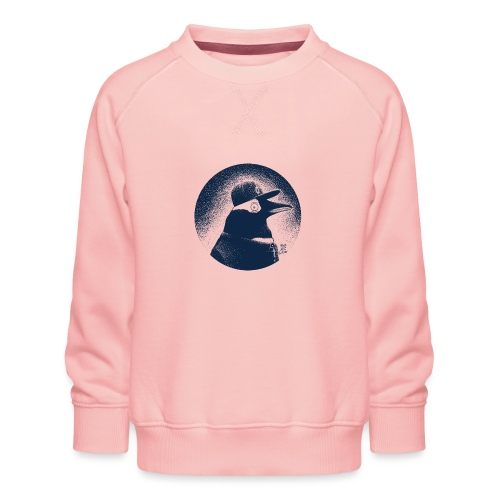 Pinguin dressed in black - Kids' Premium Sweatshirt