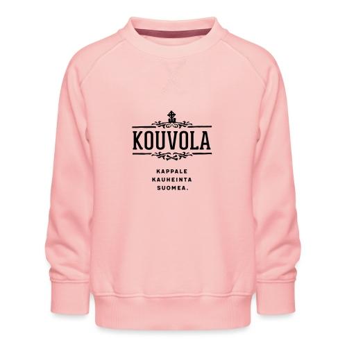 Kouvola - Kappale kauheinta Suomea. - Lasten premium-collegepaita