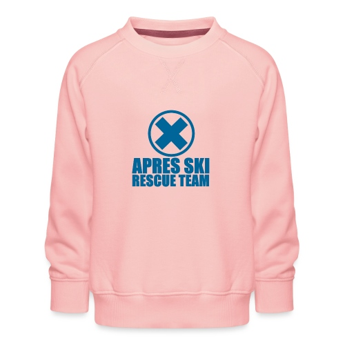 apres-ski rescue team - Kinderen premium sweater