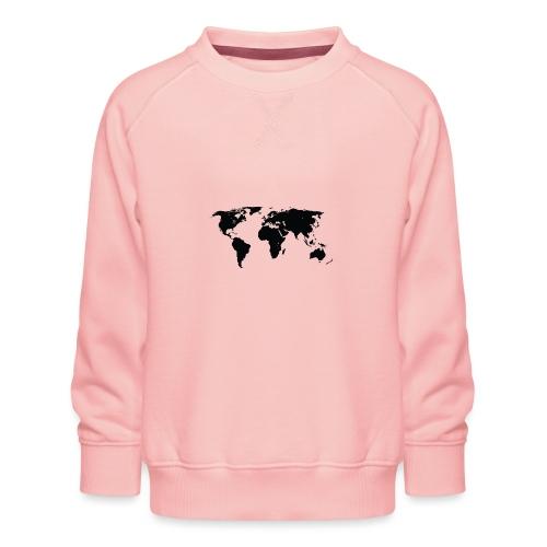 World - Børne premium sweatshirt