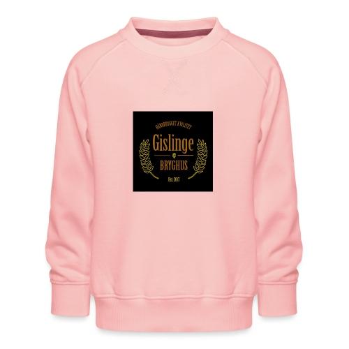 Sort logo 2017 - Børne premium sweatshirt