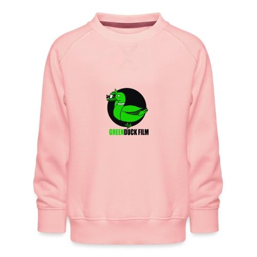Greenduck Film Logo w. black letters - Børne premium sweatshirt