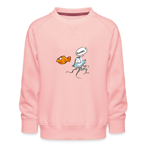 Kuscheln? - Kinder Premium Pullover