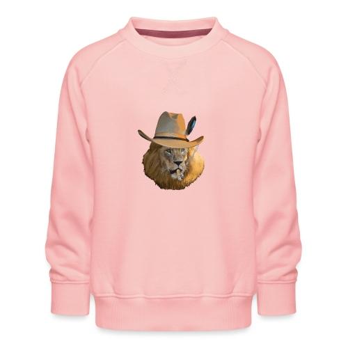 Löwe auf Safari - Kinder Premium Pullover