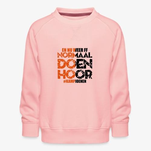 Normaal doen hoor - Kinderen premium sweater