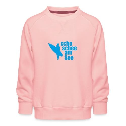 scho schee am See Surferin 03 - Kinder Premium Pullover