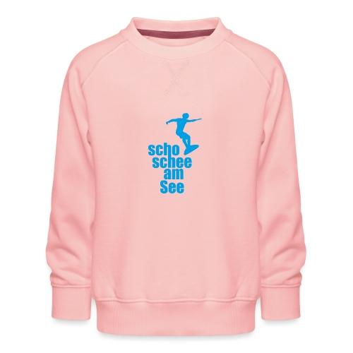 scho schee am See Surfer 02 - Kinder Premium Pullover