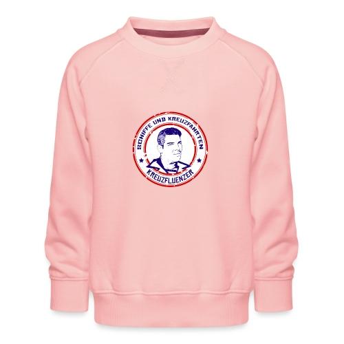 Kreuzfluenzer - Rettungsring Design (weiss) - Kinder Premium Pullover