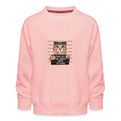 kitty bad - Sweat ras-du-cou Premium Enfant