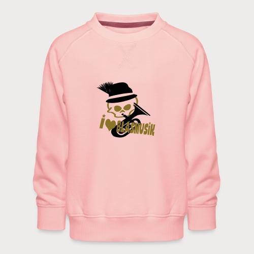 i love blasmusik - Kinder Premium Pullover