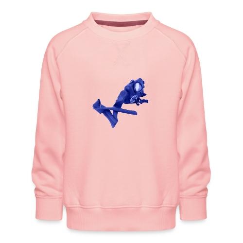 gas mask - Kids' Premium Sweatshirt