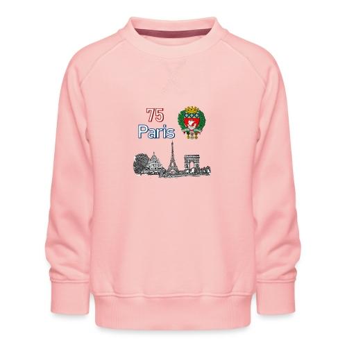 Paris france - Sweat ras-du-cou Premium Enfant