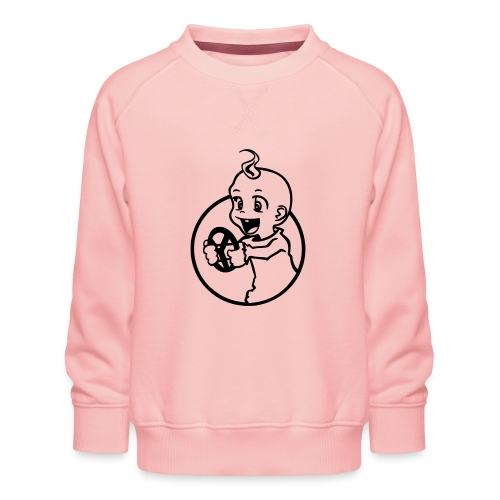 Der kleine Rennfahrer - Kinder Premium Pullover