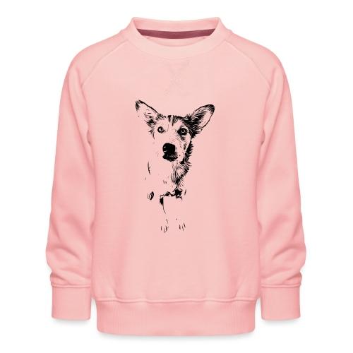 Podenco-Mischling / Hunde Design Geschenkidee - Kinder Premium Pullover
