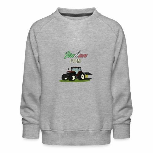 Italian Farm official T-SHIRT - Felpa premium da bambini