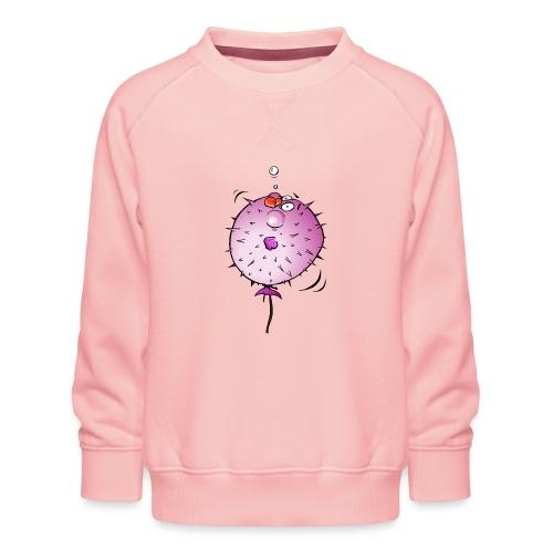 Blaasvis - Kinderen premium sweater