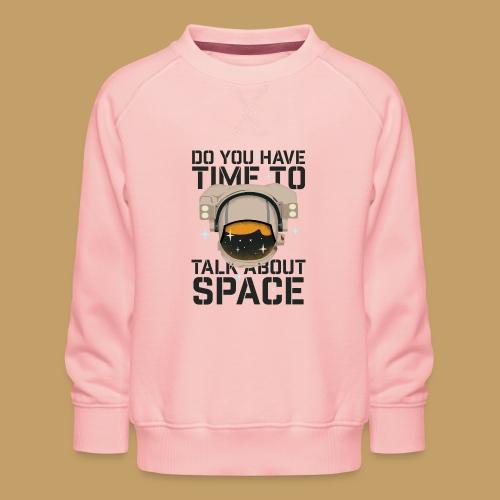 Time for Space - Bluza dziecięca Premium