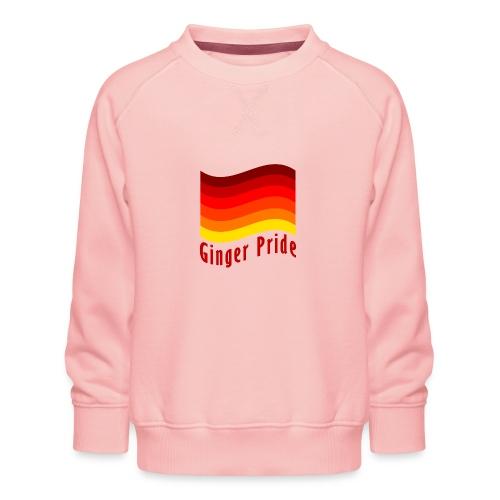 Ginger Pride flag Dark png - Kids' Premium Sweatshirt