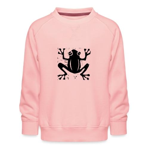 Crafty Wotnots Tree Frog - Kids' Premium Sweatshirt