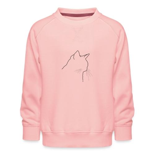 Katzenkopf - Kinder Premium Pullover
