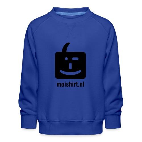 moi shirt back - Kinderen premium sweater