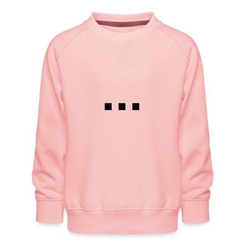 punt dot - Kids' Premium Sweatshirt