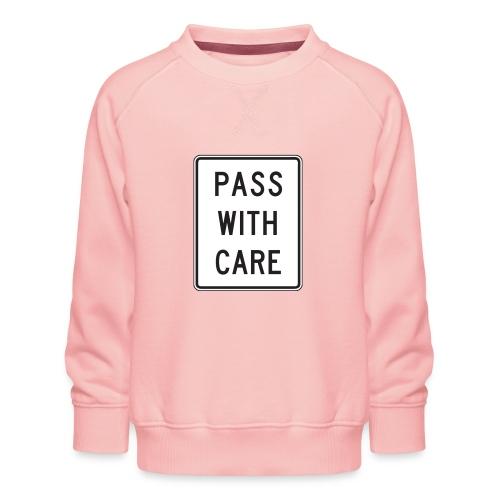 Voorzichtig passeren - Kinderen premium sweater