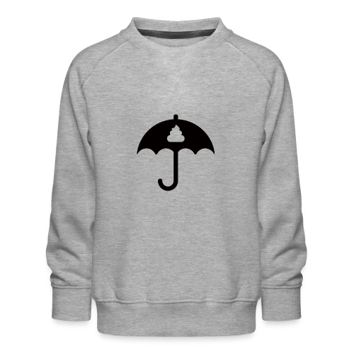 Shit icon Black png - Kids' Premium Sweatshirt