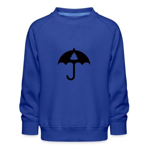 Shit icon Black png - Kids' Premium Sweatshirt