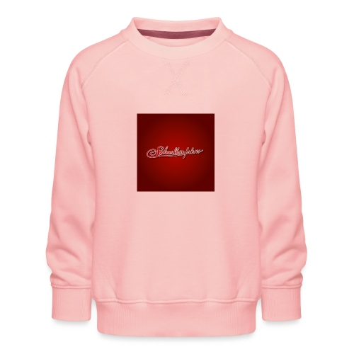 Logo auf Rot - Kinder Premium Pullover