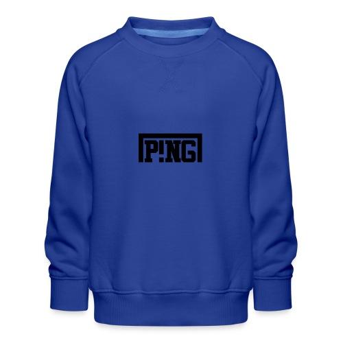 ping1 - Kinderen premium sweater
